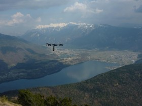 View from mountain Marzola - Hotel Terminus ***
